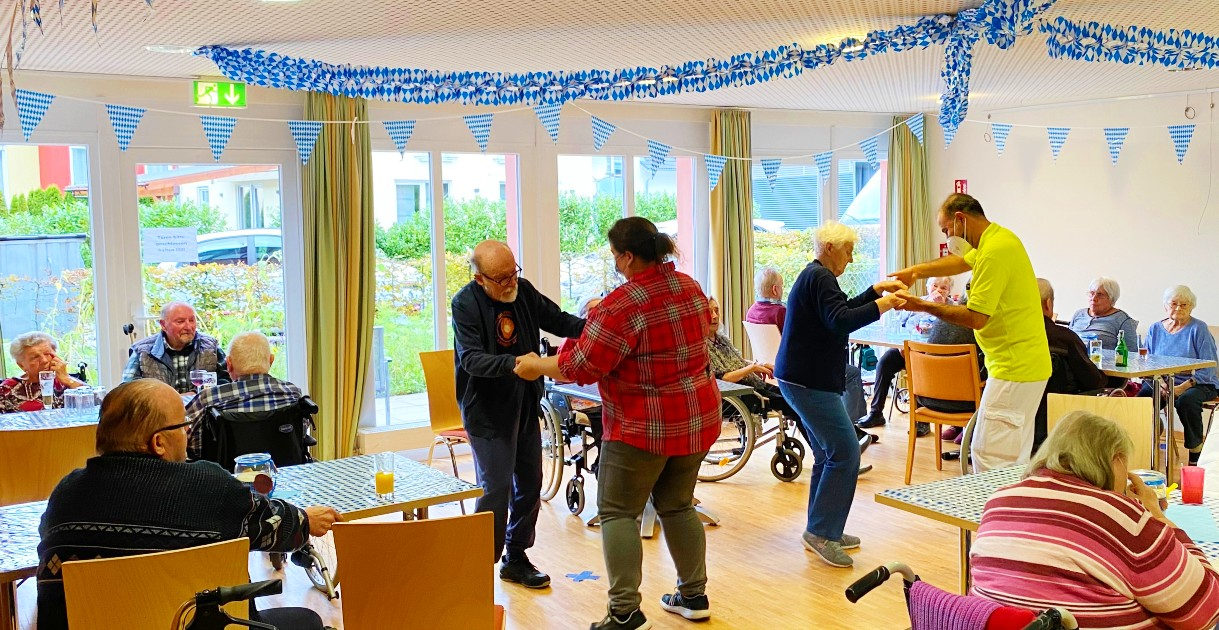 Oktoberfeststimmung im Stephanus-Haus in Hornberg